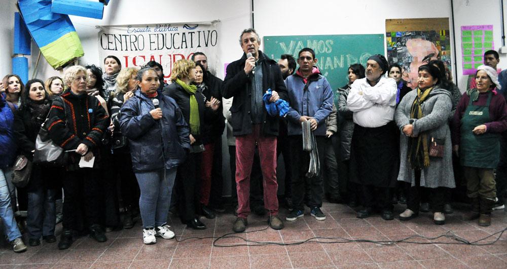 Ataque al Centro Educativo Isauro Arancibia