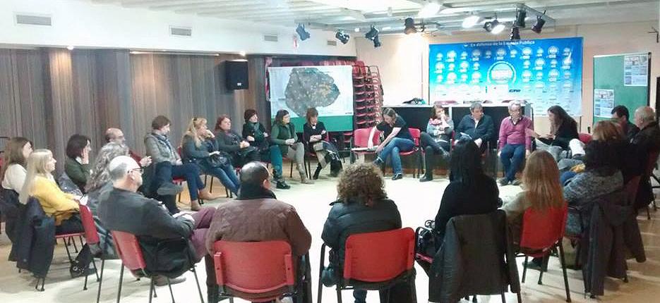 Reunión de directivos de CENS en UTE – UTE | Unión de Trabajadores