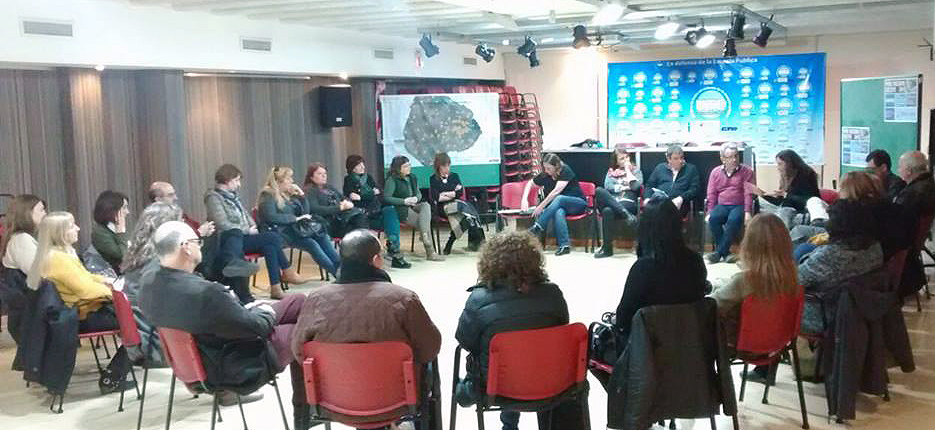 Reunión de directivos de CENS en UTE