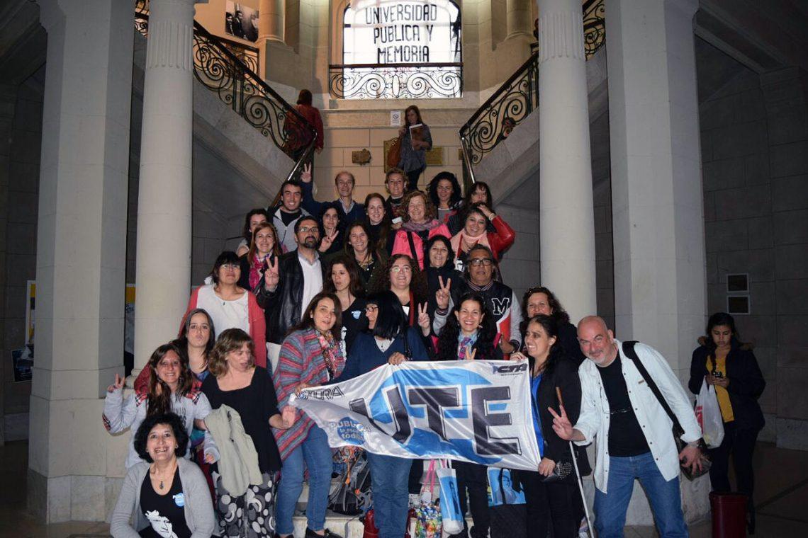 La UTE en el Congreso Nacional de Educación Primaria, Rural y Especial de Entre Ríos