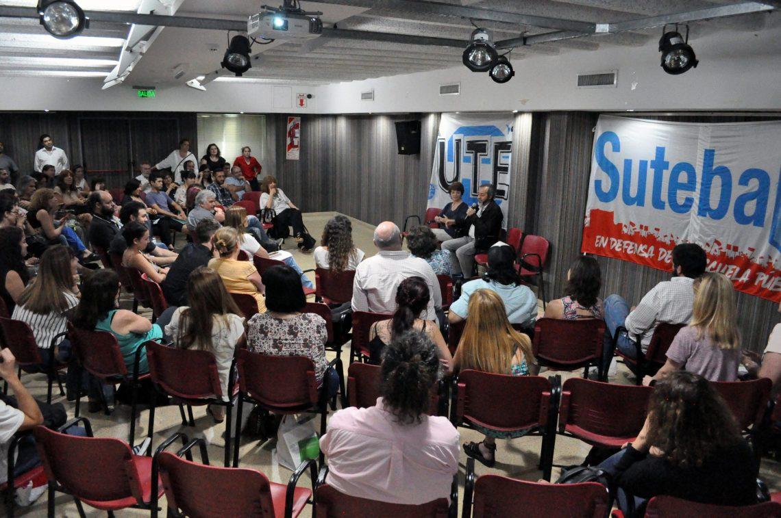 Primera reunión interjurisdiccional de Nivel Superior  UTE- SUTEBA