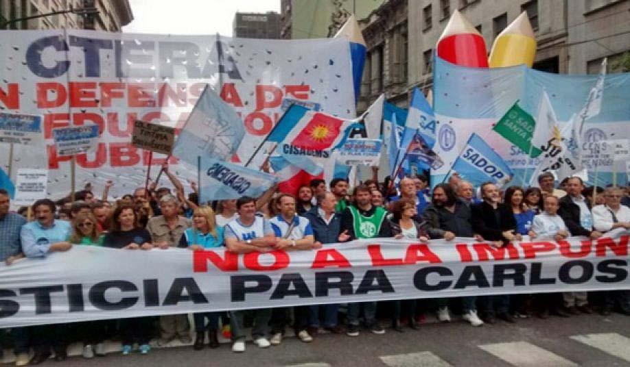 CTERA repudia la resolución del Tribunal Superior de Justicia de Neuquén: no a la impunidad!