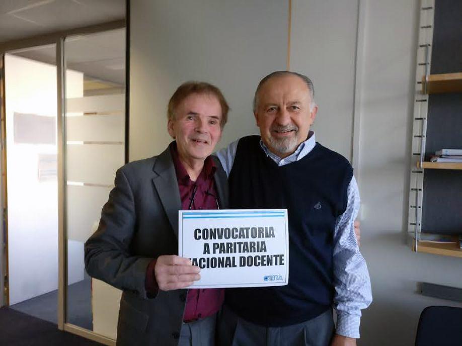 Apoyo de la Internacional de la Educación y de sindicatos docentes hermanos y centrales sindicales al reclamo de CTERA