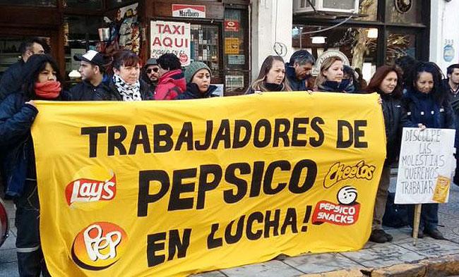 manifestacion-trabajadores-de-pepsico