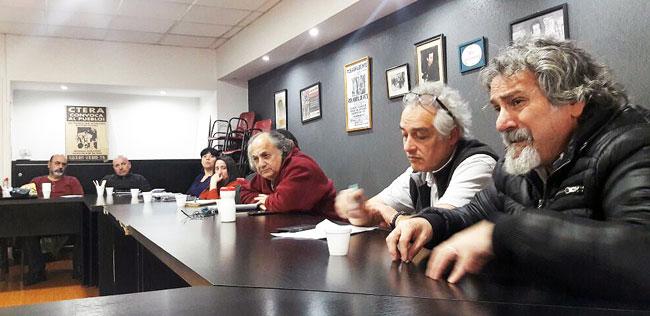 Reunión por la  reforma NES en Escuelas de Reingreso y BOA