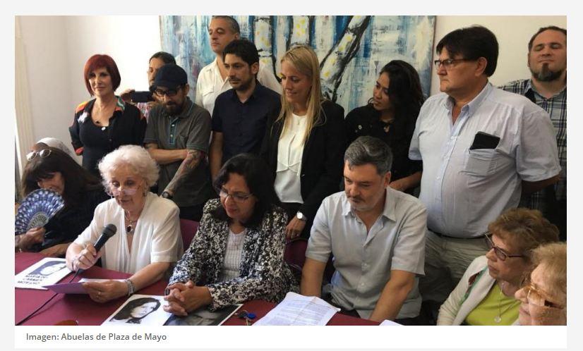UTE celebra la restitución de identidad de la nieta 127