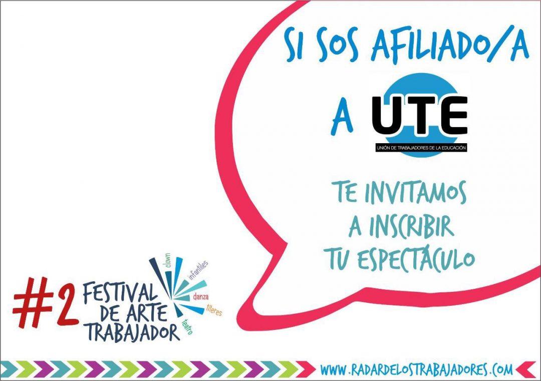 Segunda edición del Festival de Teatro ARTE TRABAJADOR