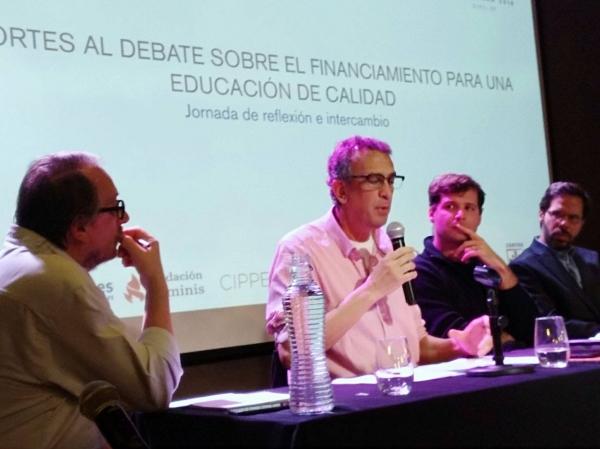 """CTERA participó del encuentro """"Aportes al debate sobre el financiamiento para una educación de calidad."""""""