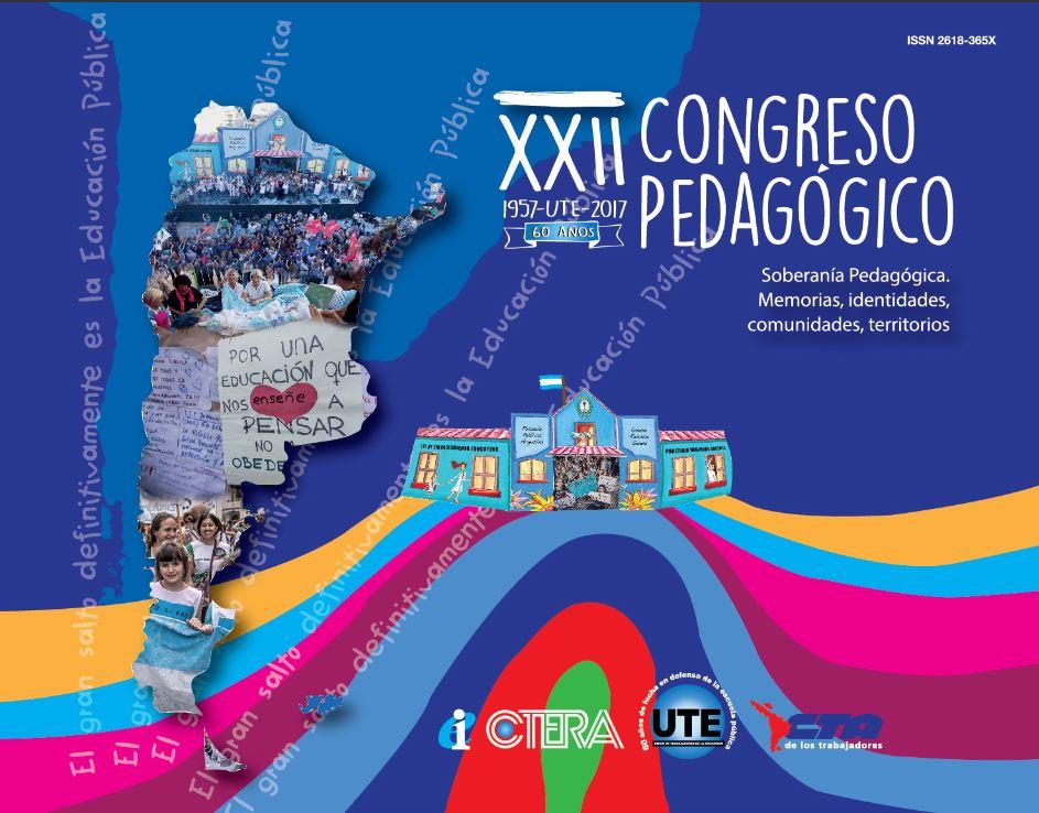 Descargá aquí  la publicación del XXII Congreso Pedagógico 2017