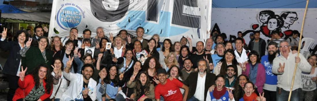 UTE se solidariza con el colectivo comunicacional villero La Garganta Poderosa