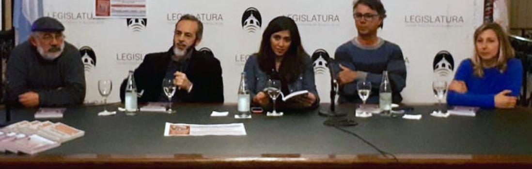 """CTERA en la presentación del libro """"Baldosas sin Fronteras"""""""