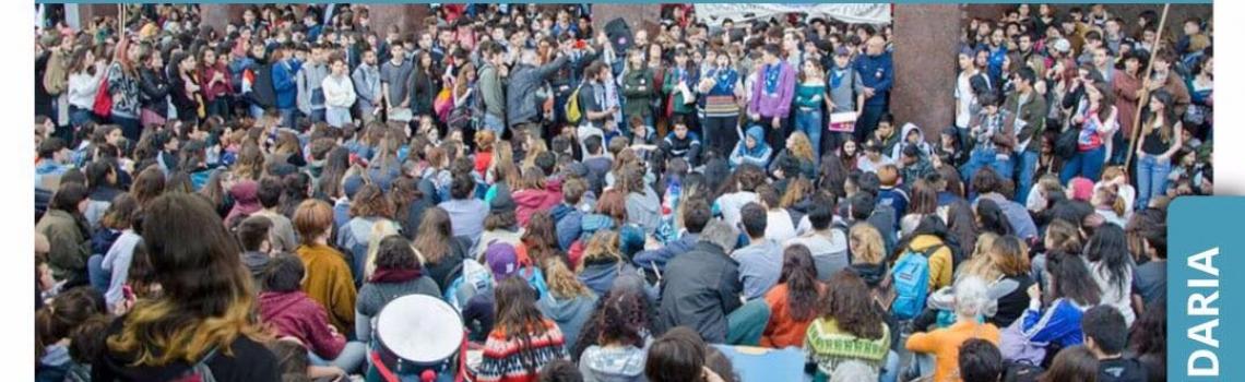 Marcha de la comunidad educativa