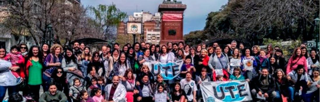Miles de docentes y vecinos/as participaron de la jornada de lucha por la educación en los distintos barrios de la Ciudad
