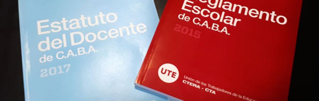 Actos Públicos de Media: El Ministerio de Educación porteño no respeta el Estatuto del Docente y el reglamento escolar