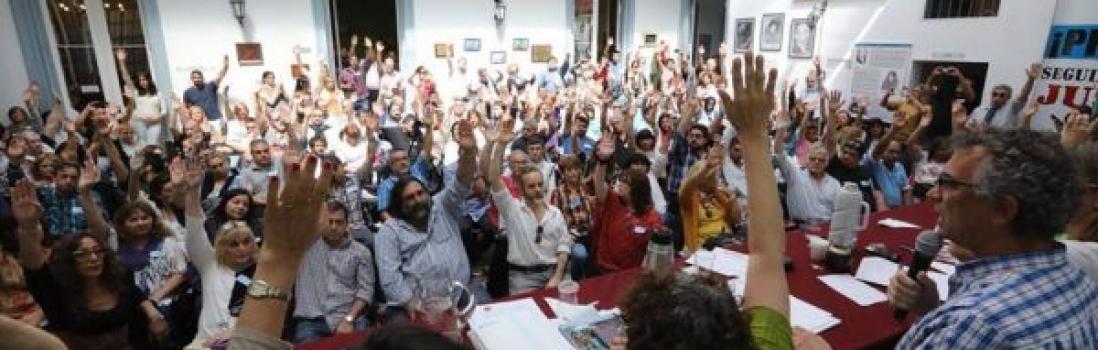 Paro Nacional Docente de CTERA. 29 de noviembre