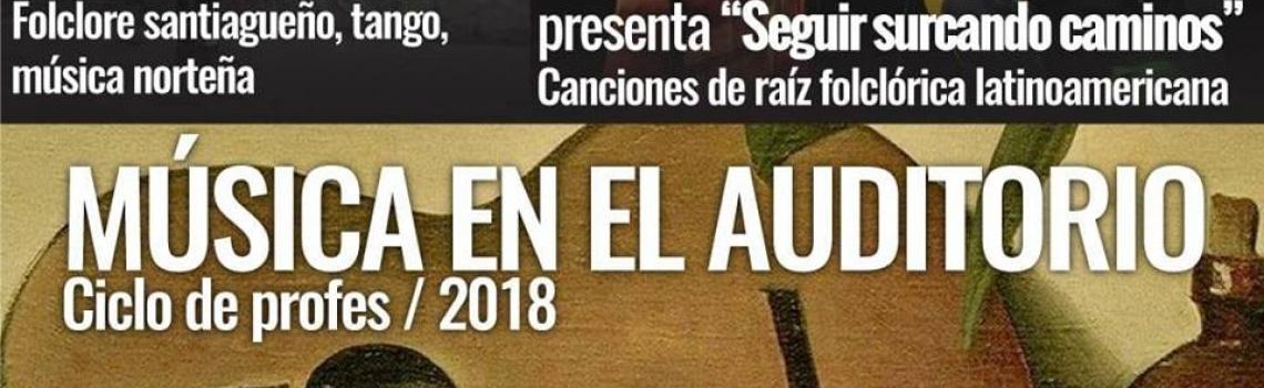 Música en el Auditorio de UTE: Camila Carabajal y Karina Monteagudo en el Ciclo de Profes 2018