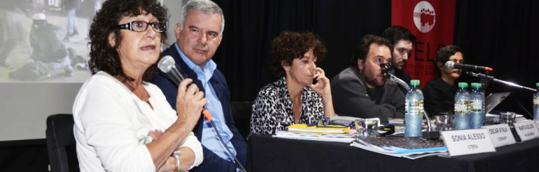 Sonia Alesso en el Encuentro Continental de América organizado por el CELS