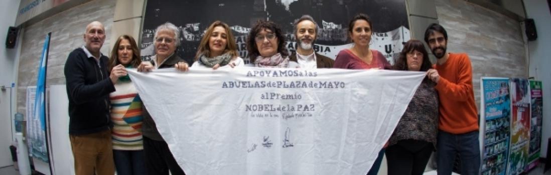 Abuelas por la Paz. CTERA apoyó a las Abuelas de Plaza de Mayo para el Premio Nobel de la Paz