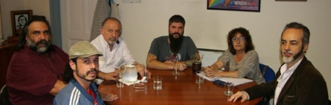 CTERA y CTA se reunieron con La Garganta Poderosa