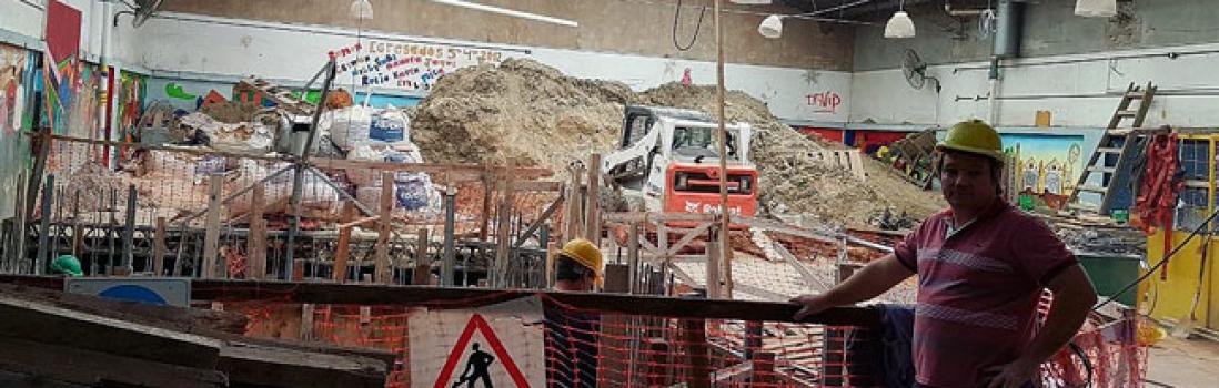 Inspección por infraestructura edilicia en la EEM 4 D.E. 19