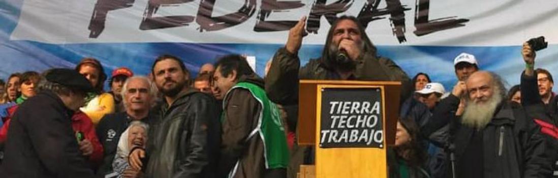 CTERA y CTA en la Marcha Federal por Pan, Tierra y Trabajo