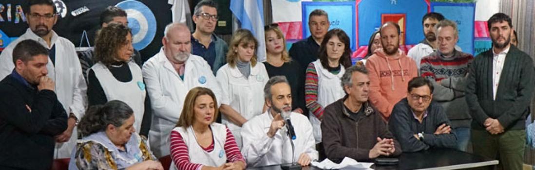 Medidas de fuerza contra el ajuste de Macri y Larreta