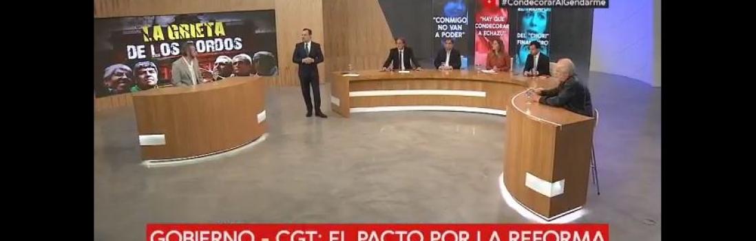 Eduardo López debate en C5N