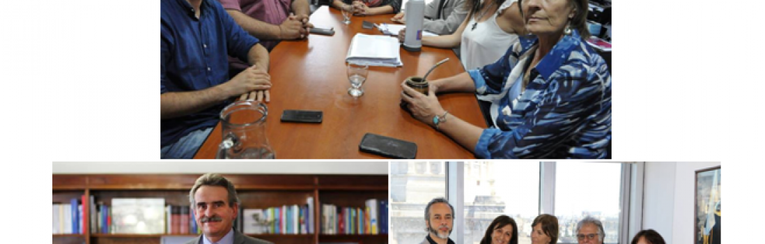 CTERA se entrevistó con Diputados por las Reformas Laboral, Jubilatoria e  Impositiva
