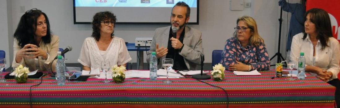 Plenario de Delegados de UTE y Congreso de CTERA para decidir un Plan de Acción