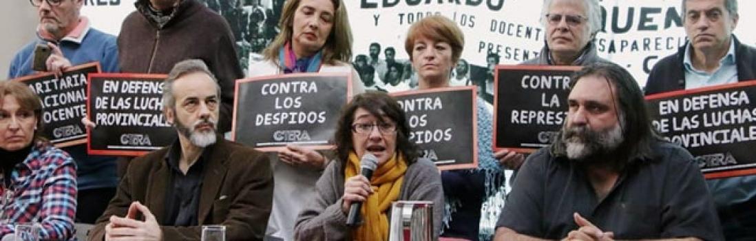 El límite es la represión: Paro Nacional Docente el 3 de julio