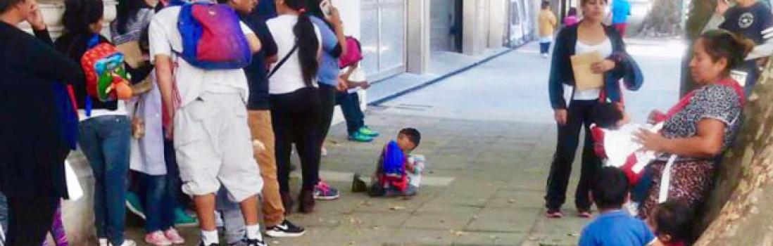 No sobran niñxs en las veredas, faltan vacantes en las escuelas