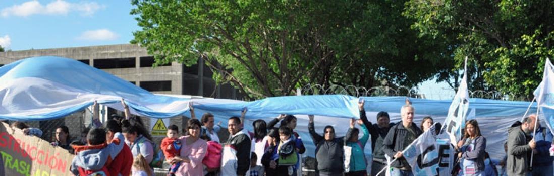 UTE repudia la presencia policial en escuelas del Polo de Retiro