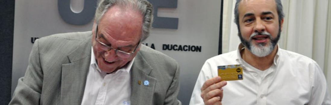 UTE firmó convenio con el Banco Credicoop