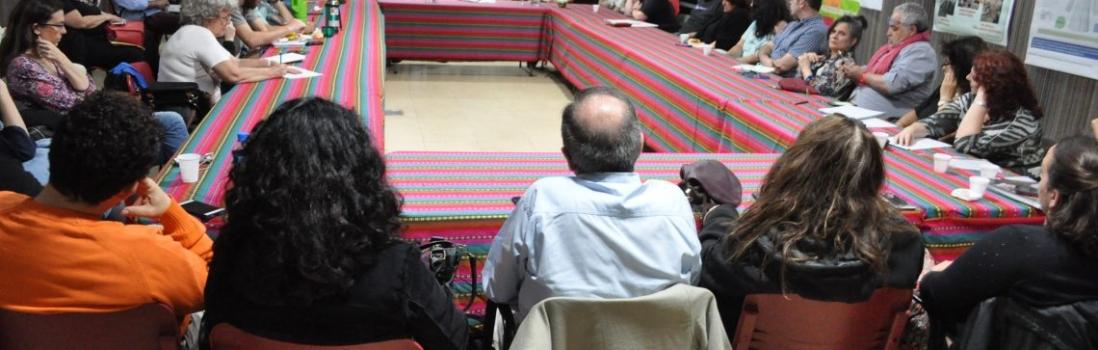 Reunión con lxs docentes de los institutos terciarios de CABA