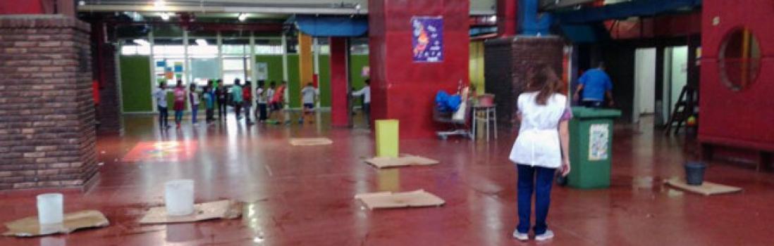 Varias escuelas con inundaciones y filtraciones por la desinversión del Gobierno porteño