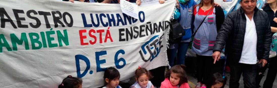En defensa de la Escuela Infantil 6 del Distrito  6to.