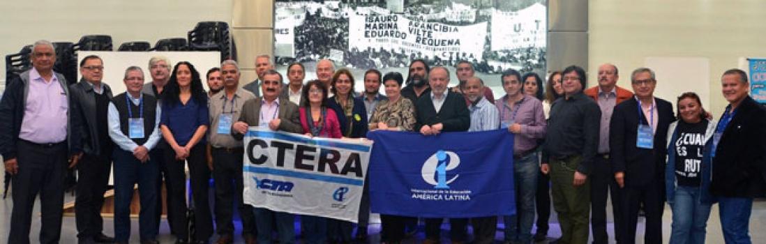La Internacional de la Educación para América Latina manifiesta su apoyo a la lucha del magisterio argentino