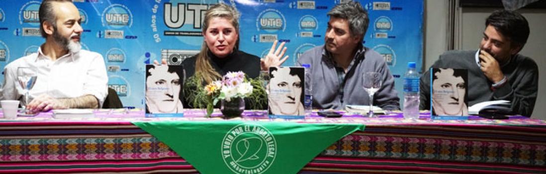 """Se presentó en UTE el libro """"El otro Belgrano"""""""