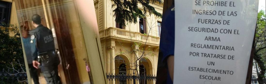 Tras la intimidación policial, las autoridades del Mariano Acosta estarán hoy en la Escuela Pública Itinerante