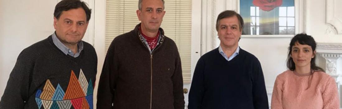 UTE se reunió con Roy Cortina por licencia parental