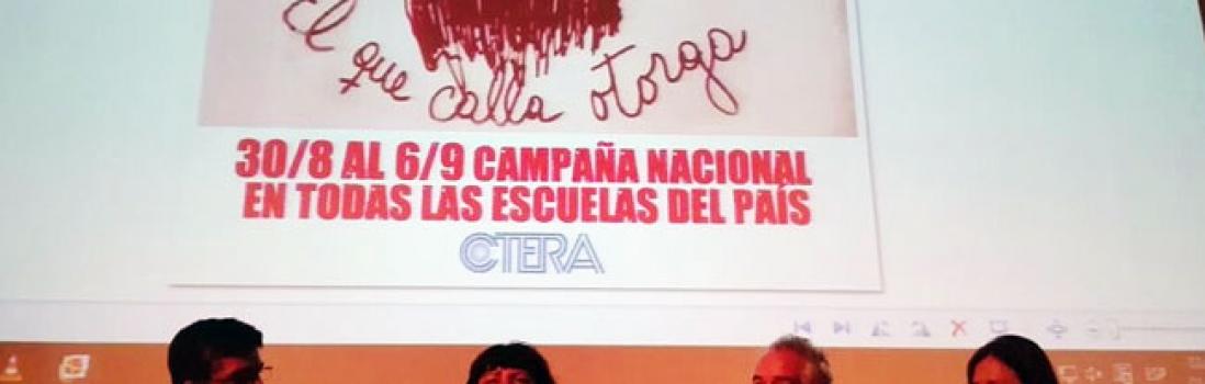 UTE presente en la Jornada Plan Maestro de SUTEBA Lomas de Zamora