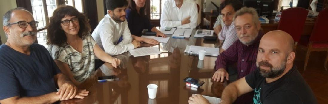 Reunión con Diputados por asignaciones familiares