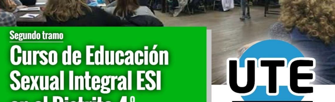 Curso de ESI en el Distrito 4