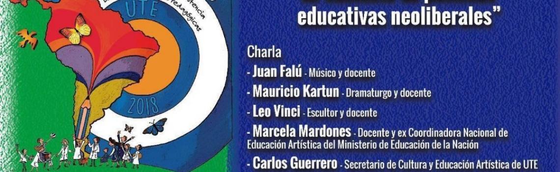Jornada Pedagógica de Educación Artística