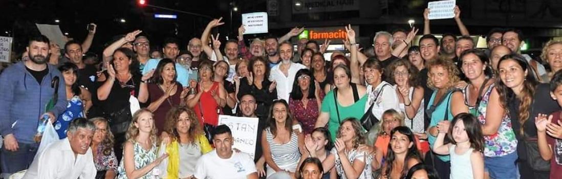 La UTE sigue luchando contra el ajuste de Macri y Larreta