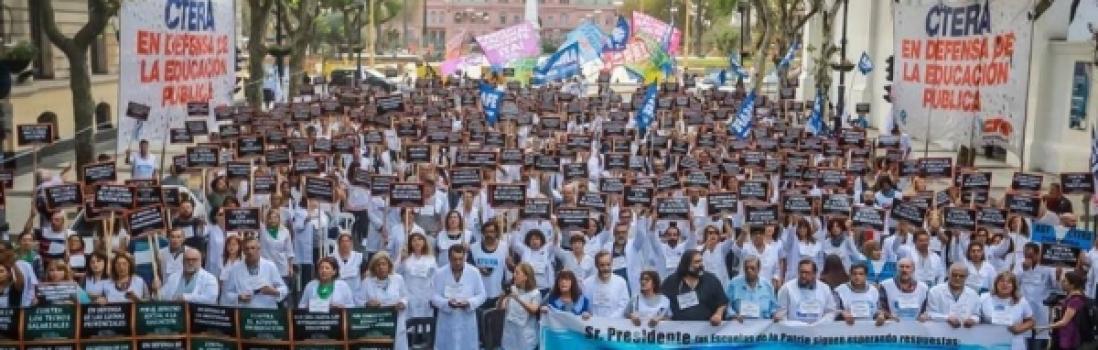 La Educación Pública está en Peligro – 13 de septiembre: la CTERA para y se moviliza