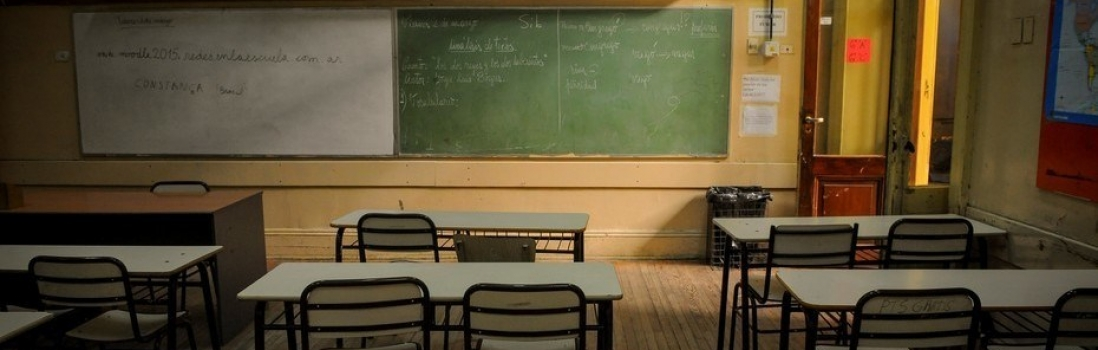 Es total el paro en las escuelas porteñas