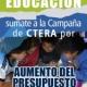 Sumate a la campaña de CTERA por aumento del presupuesto educativo
