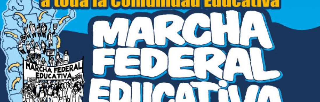 La Ciudad se prepara para recibir a la Marcha Federal Educativa