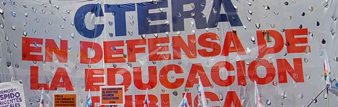 La I.E, CTERA y CONADU denunciaron al gobierno argentino en la Asamblea de la UNESCO